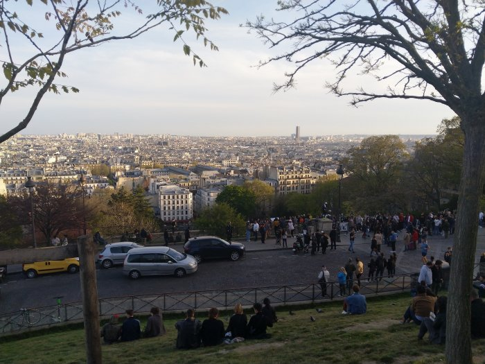 montmartre view