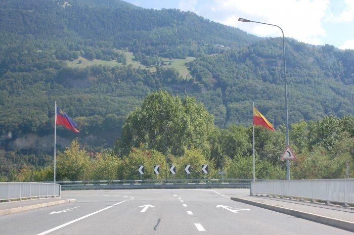 frontieră elveția-liechtenstein