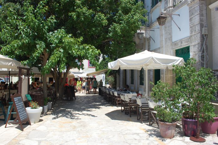terasă grecia