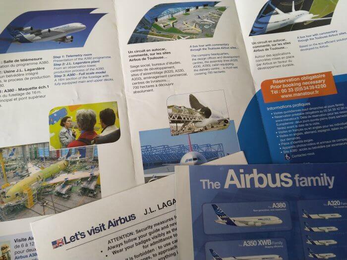 let's visit airbus toulouse