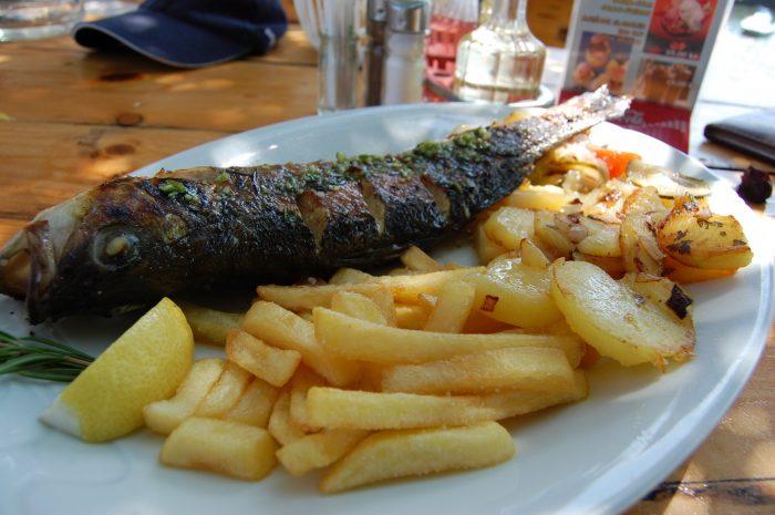 pește croația