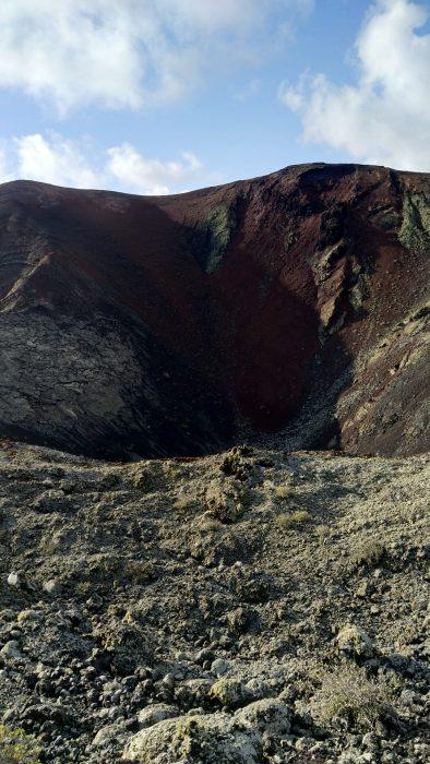 timanfaya crater