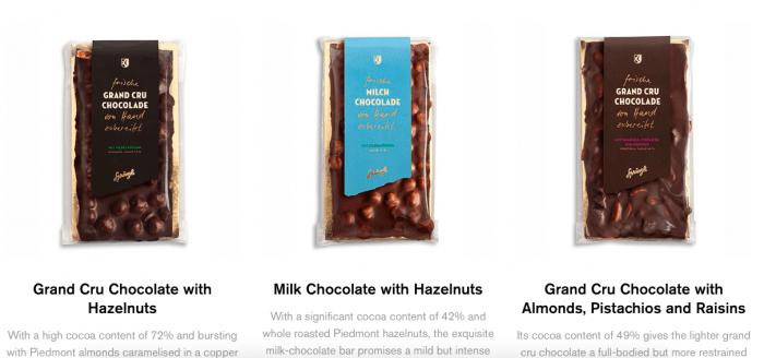ciocolată sprüngli