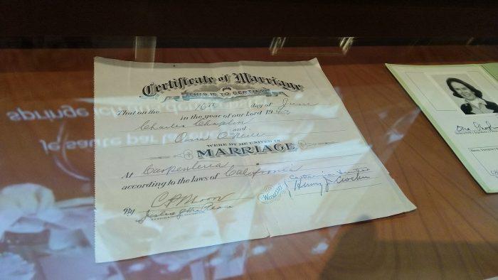 certificat de căsătorie