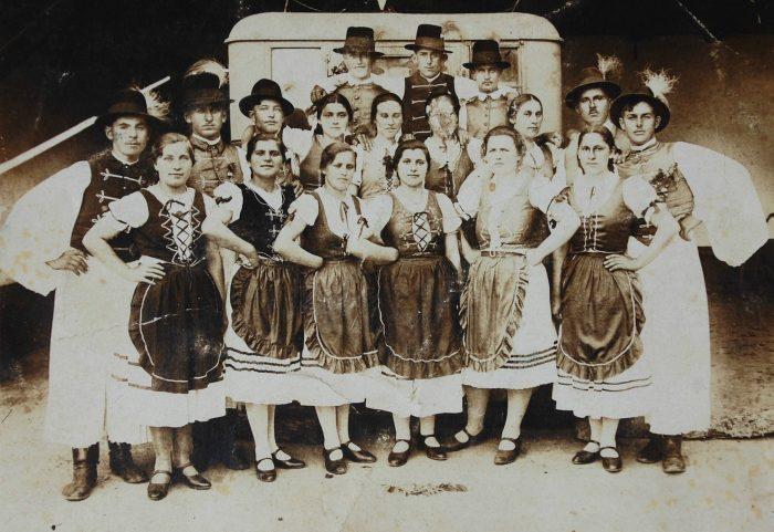 Străbunica mea Hencz Erzsébet (1931)