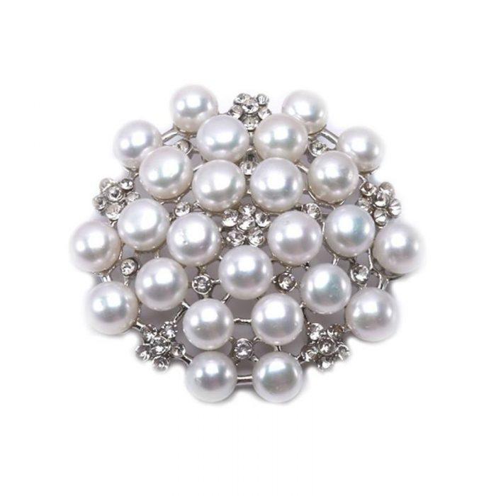 broșă perle